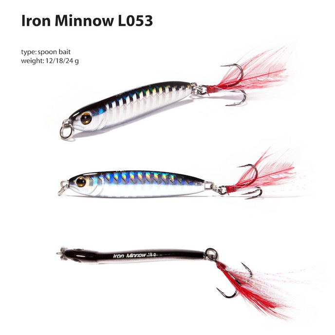 Блесна Renegade Iron Minnow